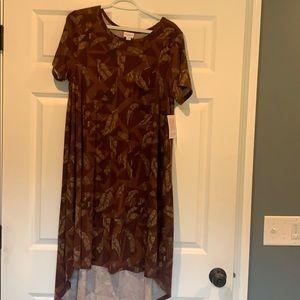 Lularoe Carly Dress, Size Large